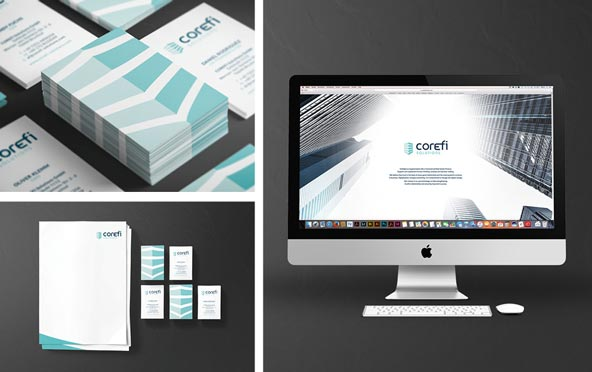 Corefi|Corporate Design