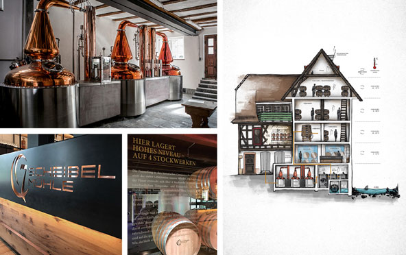 "Scheibel Schwarzwald-Brennerei|Produkt-Launch ""EMILL Single Malt Whisky"""