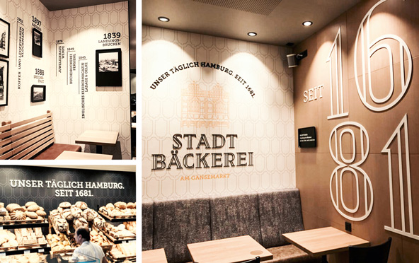 Stadtbäckerei Hamburg|Marken- & Storekonzeption